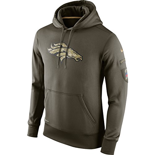 2015 Nike Denver Broncos NFL Salute to Service Hoodie Mens 3XL *Runs One Size Small* (2014 Salute Service compare prices)