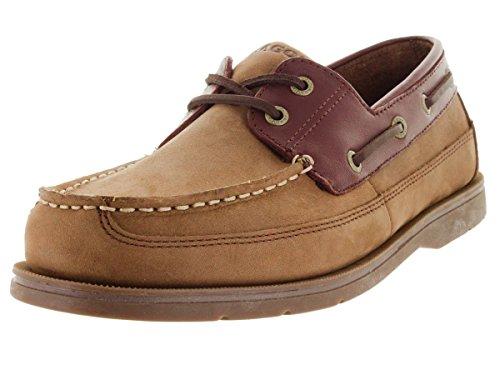 Sebago Men's Grinder Chocolate Nubuck/Brown Boat Shoe 9.5 Men US (Men Grinder compare prices)