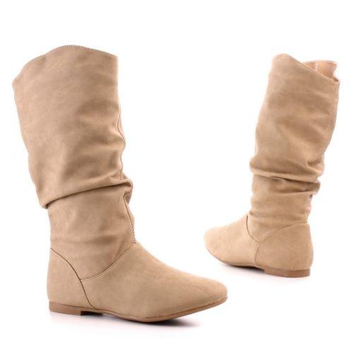 Bilder von Damen Schuhe, STIEFEL, BOOTS, 866-8, Synthetik in hochwertiger Leder Optik