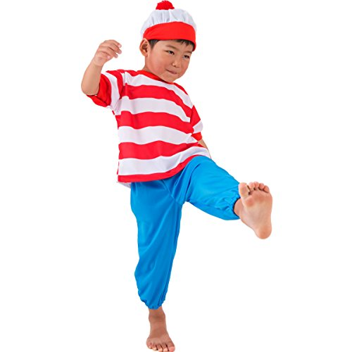 [FUN fun Baby Boys' Halloween Costume Border boy 3-12 Months Multi-Color] (Wheres Wally Fancy Dress Kids)