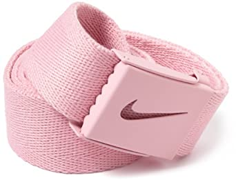 Nike Golf Men's Tech Essentials Web Belt, Perfect Pink, One Size