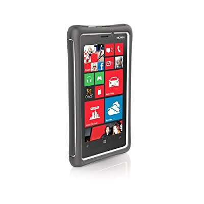 Ballistic Ev1019-m185 Every1 Series Case for Nokia Lumina 920 - Retail Packaging - Charcoal/White by Ballistic