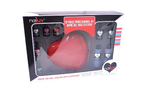 Nailuv Home Professional Gel Nail System, 12 Count