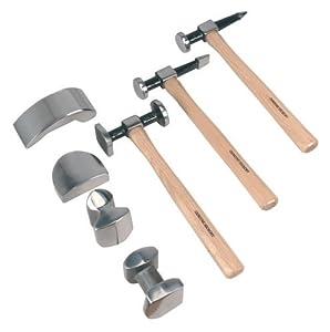 Sealey cb507 coffret outil kit de marteau et tas pour - Marteau de carrossier ...