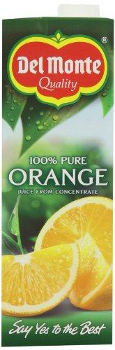 Del Monte Orange smooth Juice 4x1Litre (Pack of 3)
