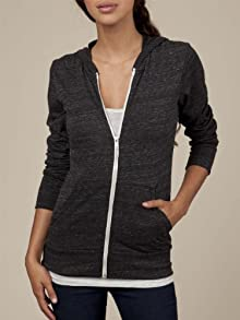 Women's Eco-Heather Zip Hoodie