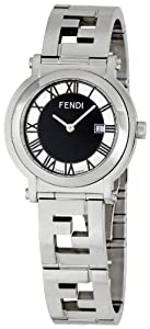 Fendi Men's FE615110 Quadrondo Black Dial Watch by Fendi