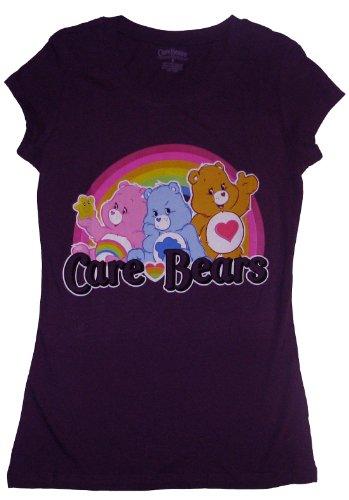 Care Bears Juniors Crew Neck T-shirt-medium