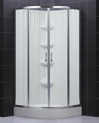 Hot Deals Dreamline Shower Kit Corner Shower Base With Backwall SECTOR 32x3