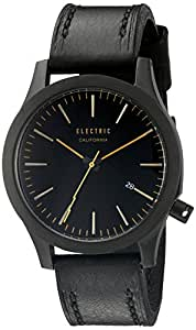 Electric Unisex EW0080050055 FW03 LEATHER Analog Display