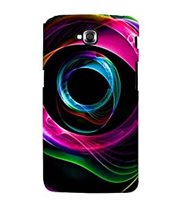 FLUIDIC ROTATING COLOUR PATTERN 3D Hard Polycarbonate Designer Back Case Cover for LG GPro Lite :: LG G Pro Lite Dual D686