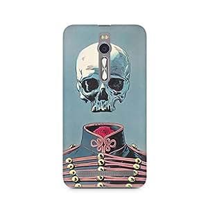 Mobicture Skull Art Premium Printed Case For Asus Zenfone 2