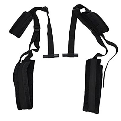 Tenflyer High Quality Sexy Toy Portable Black Love Aid Fetish constraint door Swing