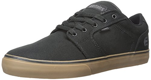 Etnies Barge LS - Scarpe da Skateboard uomo, colore nero (black/grey/gum579), taglia 43 EU (9 UK)