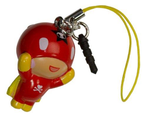 "Super Tokidoki ~1.5"" Mini-Figure - Tokidoki Frenzies Clip + Phonezie Charm"