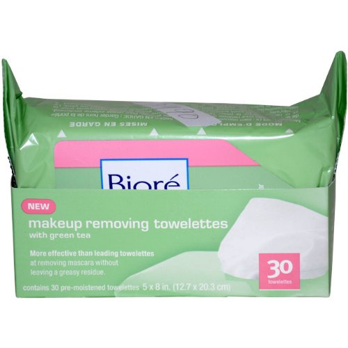 Make Up Removing Towelettes By Biore for Unisex, 30-count
