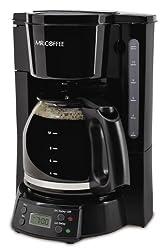 Mr. Coffee BVMC EVX23 12 Cup Programmable Coffeemaker, Black by Mr. Coffee