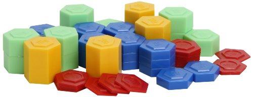 Hexagram Weights Set Of 54 (Ler 4292)