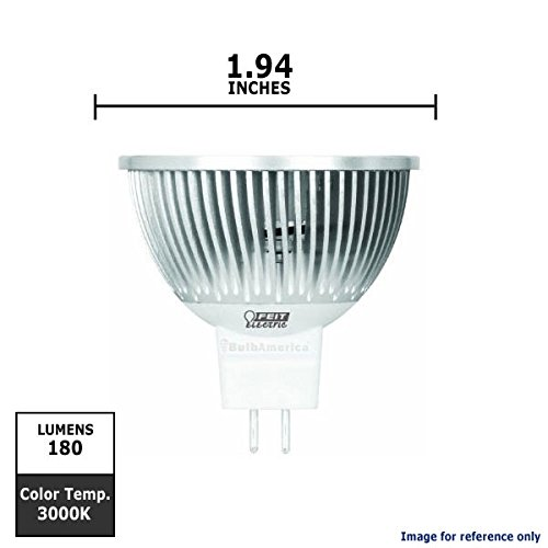 Feit Electric Exn/Hp/Led 3-Led 4-Watt 12V High Performance Mr16/Exn Base