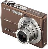 CASIO デジタルカメラ EXILIM ZOOM EX-Z600 ブラウン