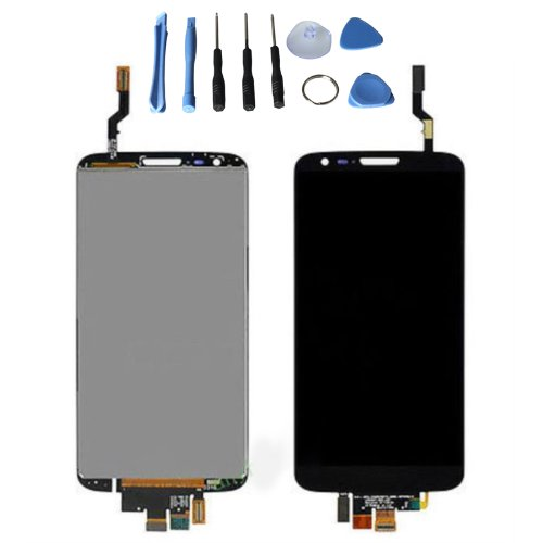 Lcd Display Touch Screen Digitizer For Lg Optimus G2 D802 With Free Tools (Black)