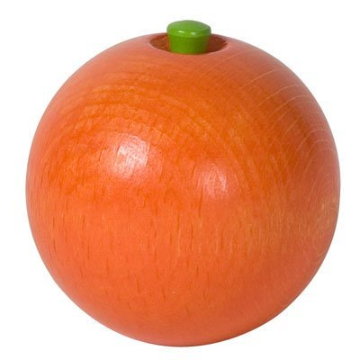 HABA Wooden Orange Fruit Play Toy - 1