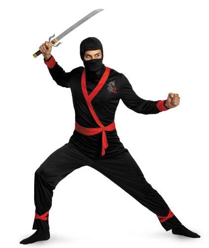 Men's Ninja Master Costume,