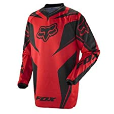 Fox Racing HC Race Jersey - 2012 - Large/Red