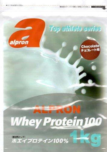 アルプロン トップアスリートシリーズ ホエイプロテイン 100 チョコレート