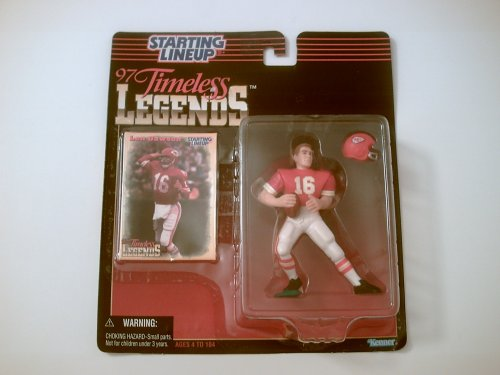 Len Dawson (HOF) Starting Lineup Collectible Figure & Card - 1
