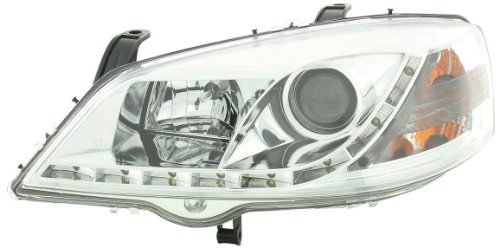 Phares Daylight set pour Opel/Vauxhall Astra (type G) année 98-03 chrome
