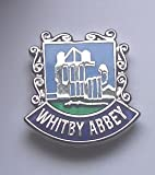 Whitby Abbey Enamel Lapel Pin Badge