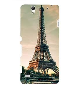 PRINTSHOPPII EIFFEL TOWER PARIS Back Case Cover for Sony Xperia C4 Dual E5333 E5343 E5363::Sony Xperia C4 E5303 E5306 E5353