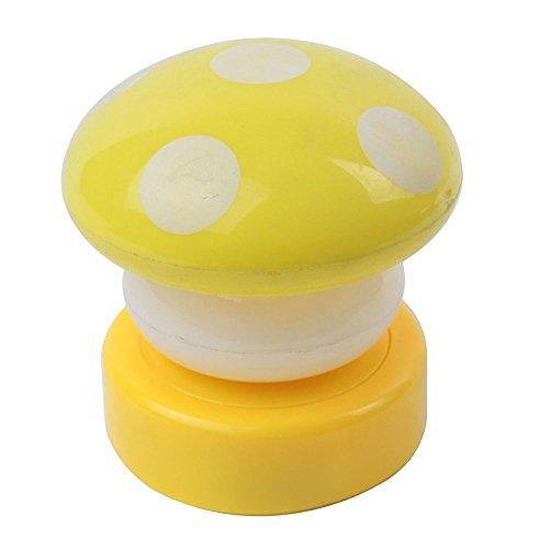 Leegoal 2x LED Mini Mushroom Night Light Lamp,Random Color - 1