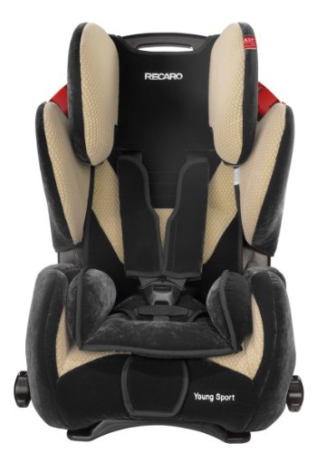 RECARO  Young Sport Group 1,2,3 Car Seat (Beige)