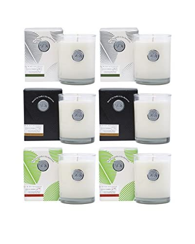 The Soi Co. Set of 6 Assorted 13.5-Oz. Moisturizing Luxe Candles II