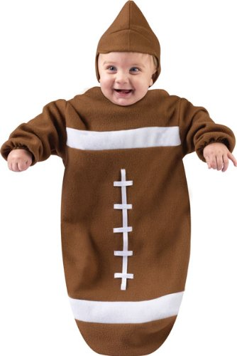 Infant Bunting Halloween Football Costume SZ: 0-9 month