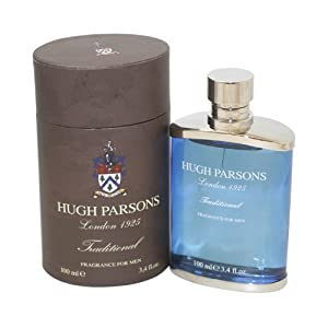 Hugh Parsons Traditional By Hugh Parsons For Men. Eau De Parfum Spray 3.4-Ounce Bottle