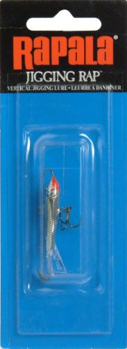 Rapala Jigging Rap 03 Fishing Lure, 1.5-Inch, Chrome Blue