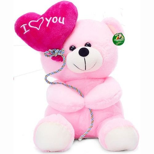 Tickles-I-Love-You-Balloon-Heart-Teddy-Pink-18-cm