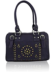 ZEPPAR PURPAL SYNTHATIC LEATHER LADIES HAND BAG LADIES HAND BAG