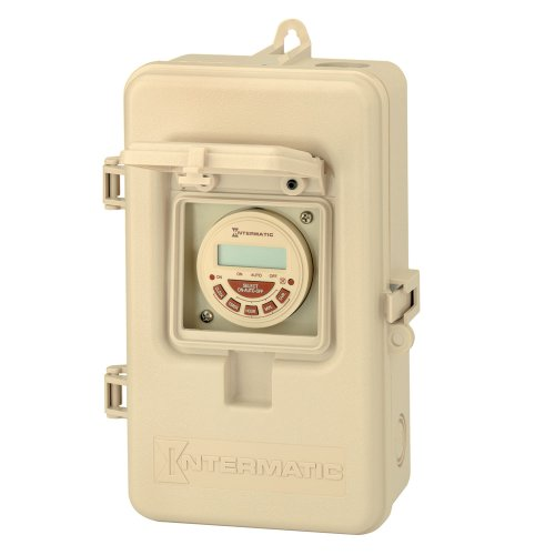 Intermatic P1103FE 24-Hour DPST Electronic Time Switch