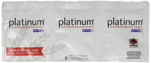 Platinum Superior Baking Yeast - 3 CT (Yeast For Baking compare prices)