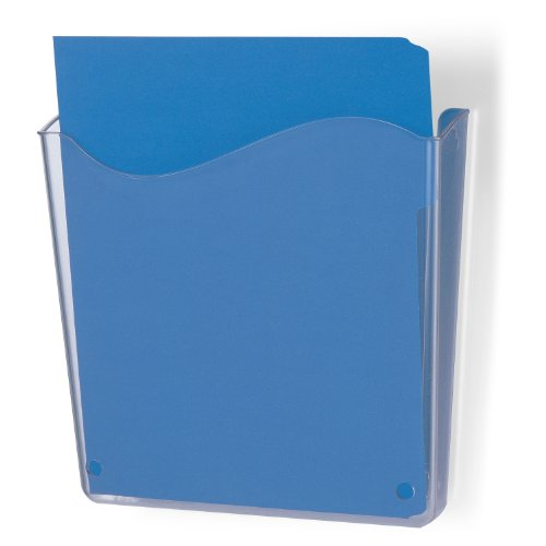 Officemate Unbreakable Wall File, Vertical, Clear (21674_ front-203953