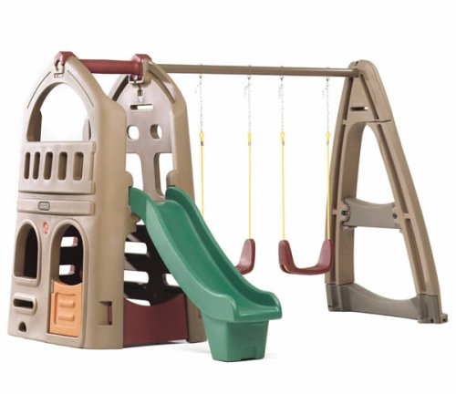 Step2  Naturally Playful Playhouse Climber & Swing