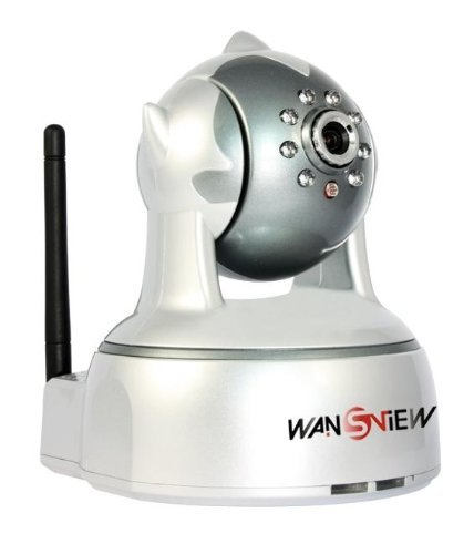 Wansview NCB540W M-JPEG Wireless WIFI ip camera, Pan/Tilt 350?100?free NNDS IR Cut Good Image Night Vision at Sears.com