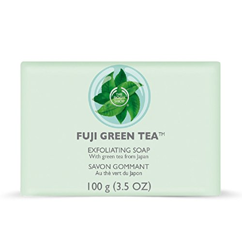 The Body Shop Fuji Exfoliating Soap, Green Tea, 100 Gram