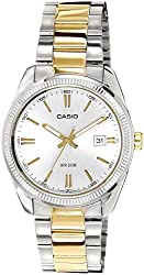Casio Enticer Analog Silver Dial Mens Watch - MTP-1302SG-7AVDF (A491)