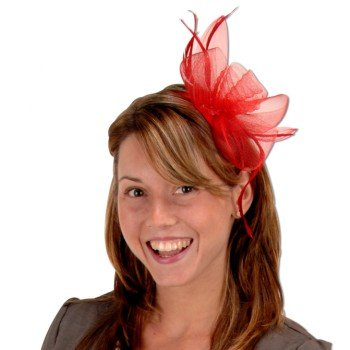 Fancy Flower Headband Party Accessory (1 count) (1/Pkg)