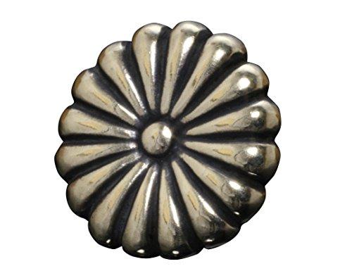 龍頭 菊バッジ 真鍮 菊紋 菊十六紋 紋章 ブラス